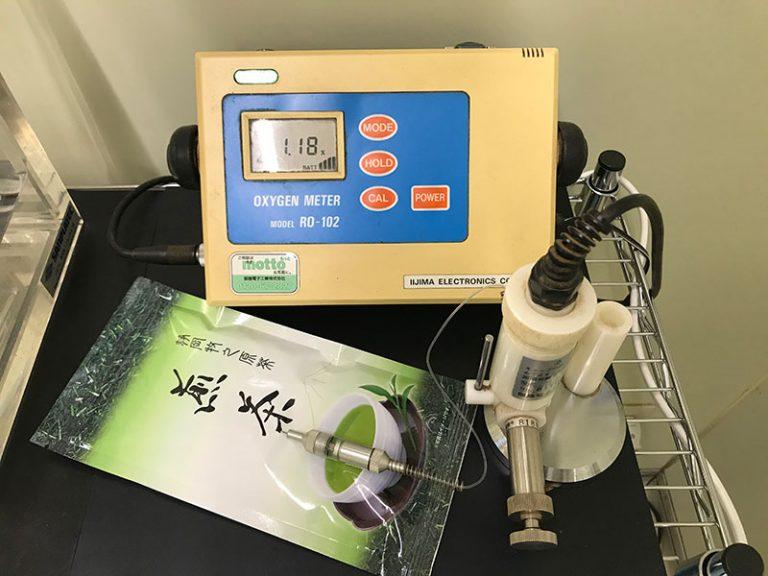 残存酸素測定